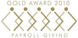 Gold Award 2010, Payroll Giving