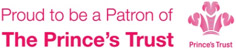 Proud to be a Patron of The Prince's Trust